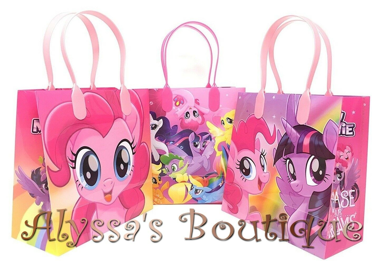 NEW! 20 pc My Little Pony Party Favor Goodie Bags Gift Birthday ...