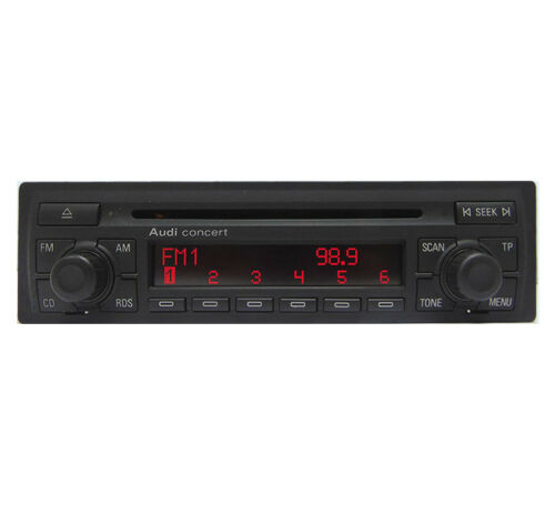 Audi Concert Autoradio de Culasse Fourni avec Code Radio Audi A2 Lecteur CD