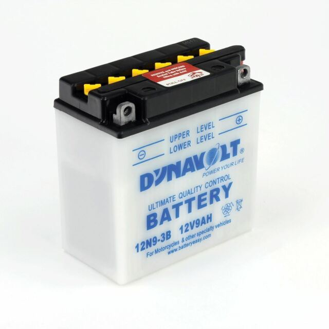 Dynavolt Motorcycle Motorbike 6N4A4D Conventional High Cranking Power Battery