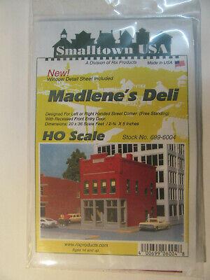 Smalltown Usa 1:87 6004 Madlene's Deli Città Casa Kit In Plastica-mostra Il Titolo Originale Elegante Nello Stile