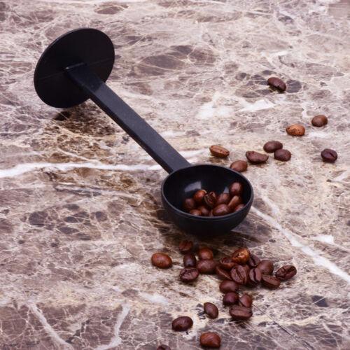 2 IN 1 Coffee Espresso Scoop 10g Plastic Measuring Spoon Tamper Length 150mm  HV