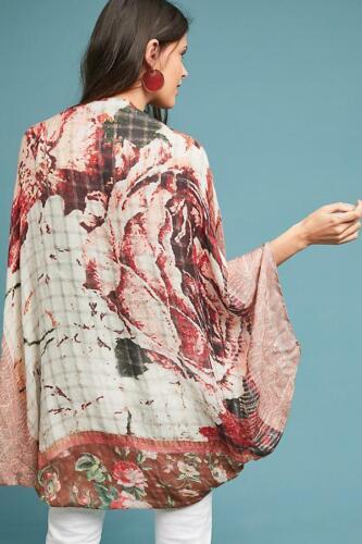 Anthropologie Elizabeth Gillett Jessie Cocoon Kimono One Size RRP £98