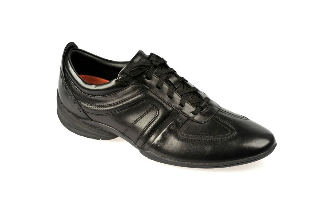 Clarks Schuhe FLUX SPRING schwarz Herrenschuhe elegante Halbschuhe 20339055 7