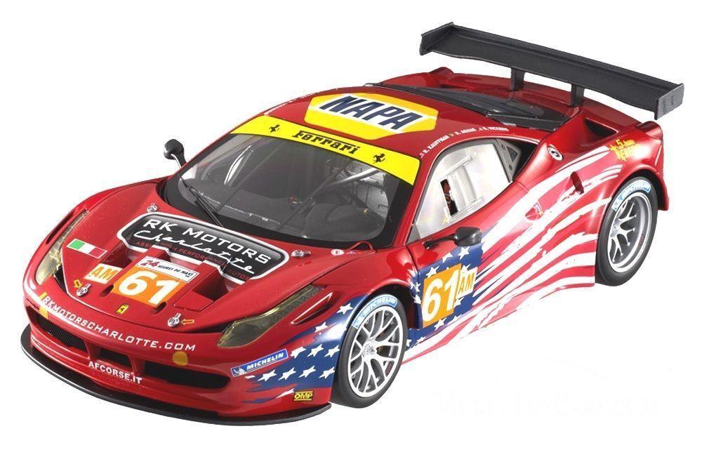 popular Ferrari 458 gt2 gte, el 24h le mans 2012 2012 2012 1 18 - bct78 hotwheels Elite  ahorra hasta un 80%