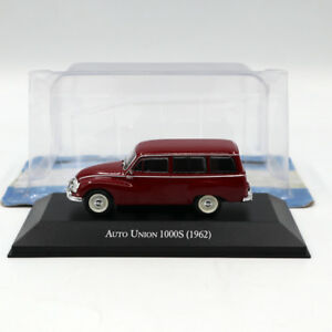 IXO-Altaya-1-43-Auto-Union-1000S-1962-Diecast-Models-Limited-Edition-Collection