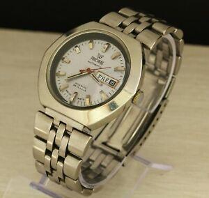 Vintage-PRECIMAX-automatic-Swiss-made-men-039-s-wristwatch-Cal-ETA-2789-25-jewels