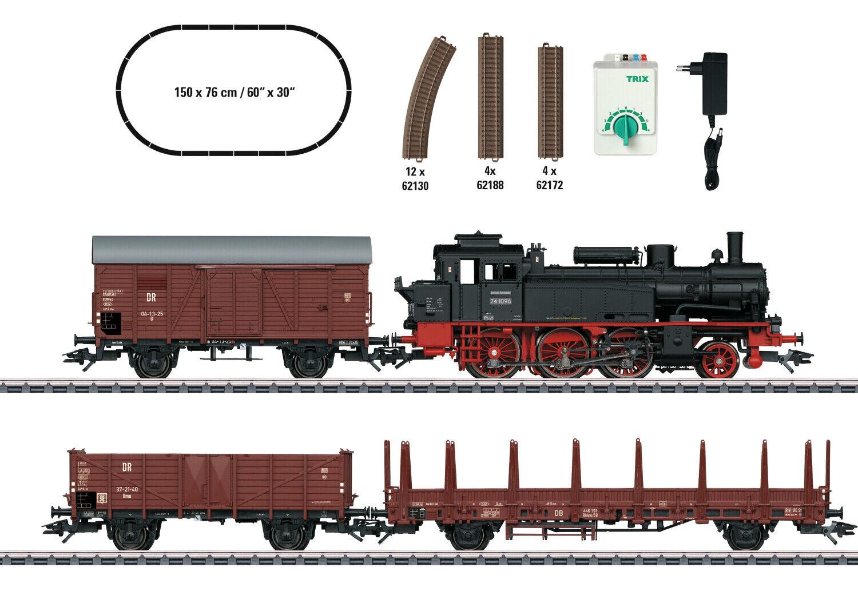 H0 estrellatSet treno merci br74 DR ep. III Trix 21532