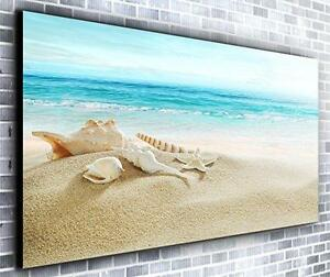 Image Is Loading Paradise Beach Wall Decor Panoramic Canvas Art