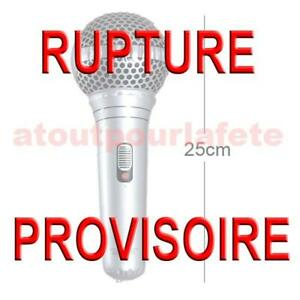 Micro Microphone Gonflable 25cm