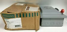 Siemens Hnf362 Safety Switch Disconnect 60 Amp 600vacdc 3 Pole Non Fused Type1