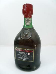 Vecchia-bottiglia-FINEST-PORTO-Oporto-Da-Silva-vino-vintage-wine-old