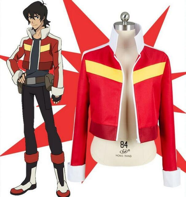 Legendary Defender of the Universe Cosplay Keith Akira Kogane Jacket Costume New
