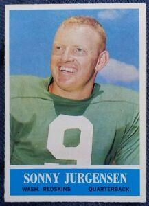 1964-Philadelphia-Gum-186-Sonny-Jurgensen-Washington-Redskins-NM