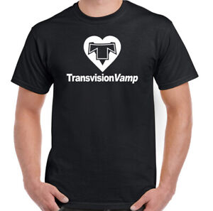Transvision-Vamp-T-Shirt-Mens-Wendy-James-Unisex-80-039-s-Pop-Rock-Music-Top