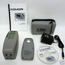 X-Rite 530 Komori Color Spectrophotometer Densitometer Excellent condition Xrite
