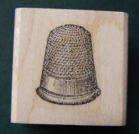 P22 Thimble Rubber Stamp Wm Vintage