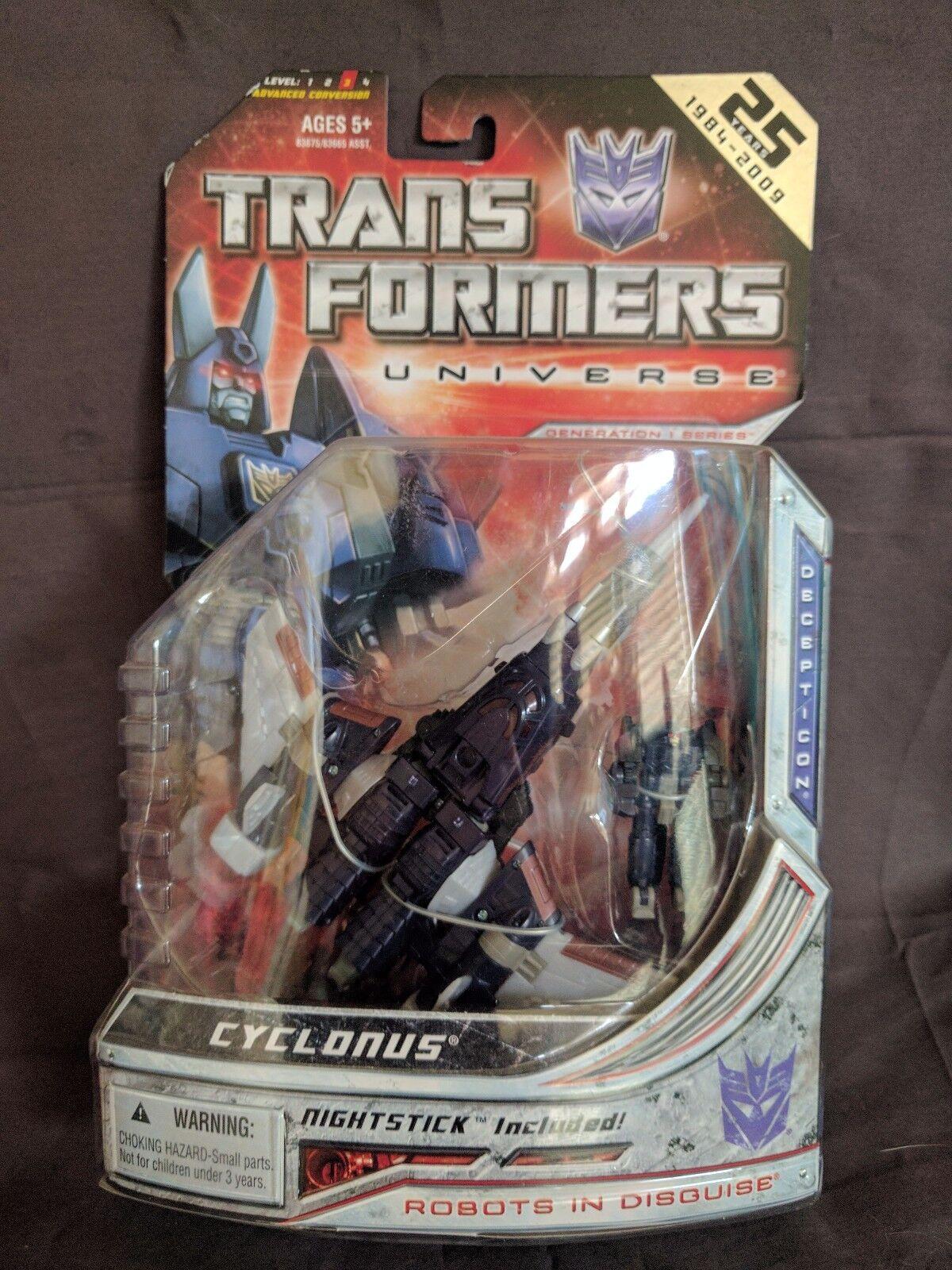MISB 25 year Anniversary edizione Transformers Universe CYCLONUS Generation 1