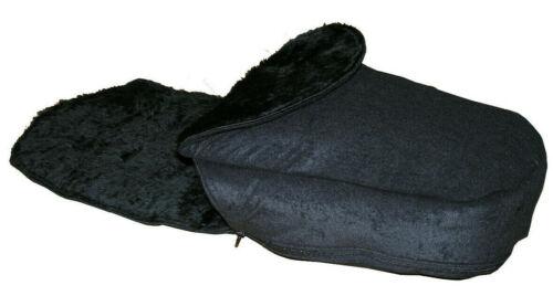 Fur Lined FOOTMUFF to Fit Silver Cross Wayfarer Pushchairs