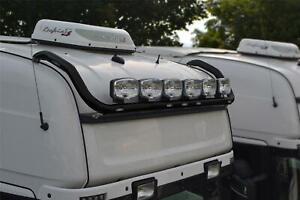 Pour-Scania-4-Series-Topline-Noir-Toit-Barre-Lumineuse-Egaliser-Leds-Rond