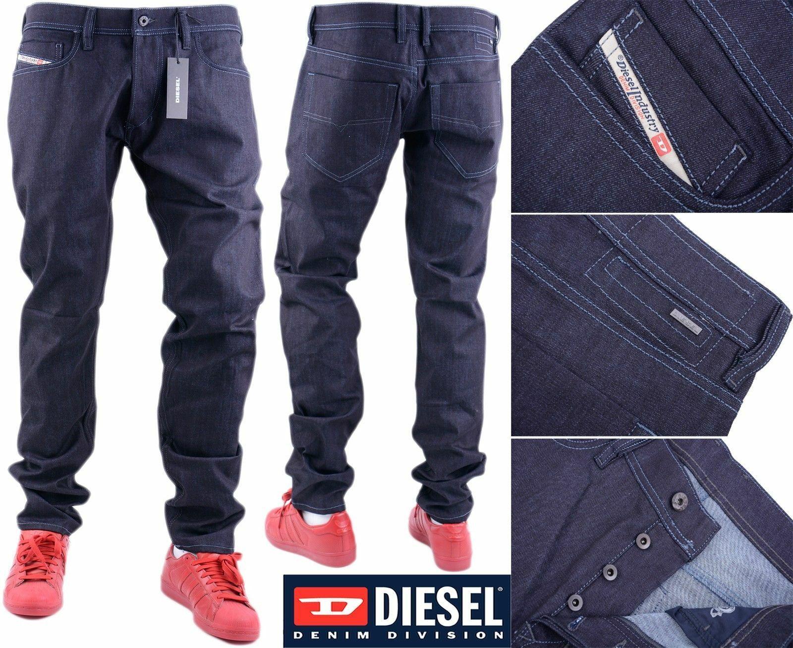 DIESEL TEPPHAR 084BF W31 L34 Mens Denim Jeans Regular Slim Tapered