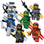Lego-Ninjago-Minifiguren-Sets-Zane-Cole-Nya-Kai-Jay-GOLDEN-DRAGON-LLOYD-Minifigs Indexbild 35