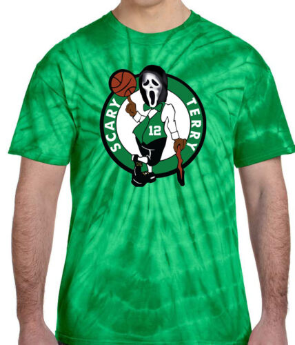 "Tie-Dye Terry Rozier Boston /""Scary Terry/"" T-Shirt"
