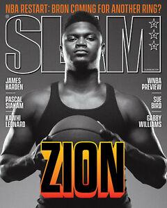 SLAM Magazine 228 September October 2020 NBA Restart - Zion Williamson Cover