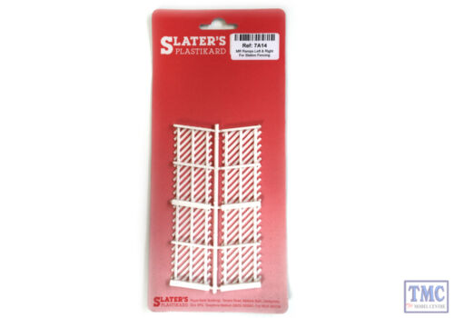 7A14 Slaters O Gauge MR Ramps Left /& Right For Station Fencing