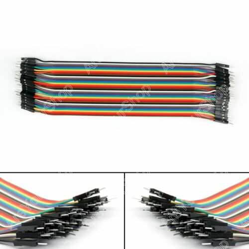 10x 40Stk Jump Wire Jumper Kables 20cm männlichen zu weiblichen Für  A3