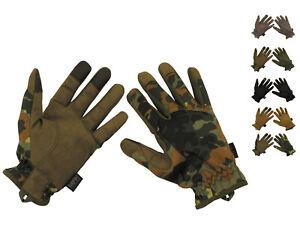 NEU US Tactical Fingerhandschuhe TOUCH Lightweight Bundeswehr Einsatzhandschuhe