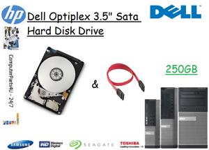 250GB Dell Optiplex 7010 3 5
