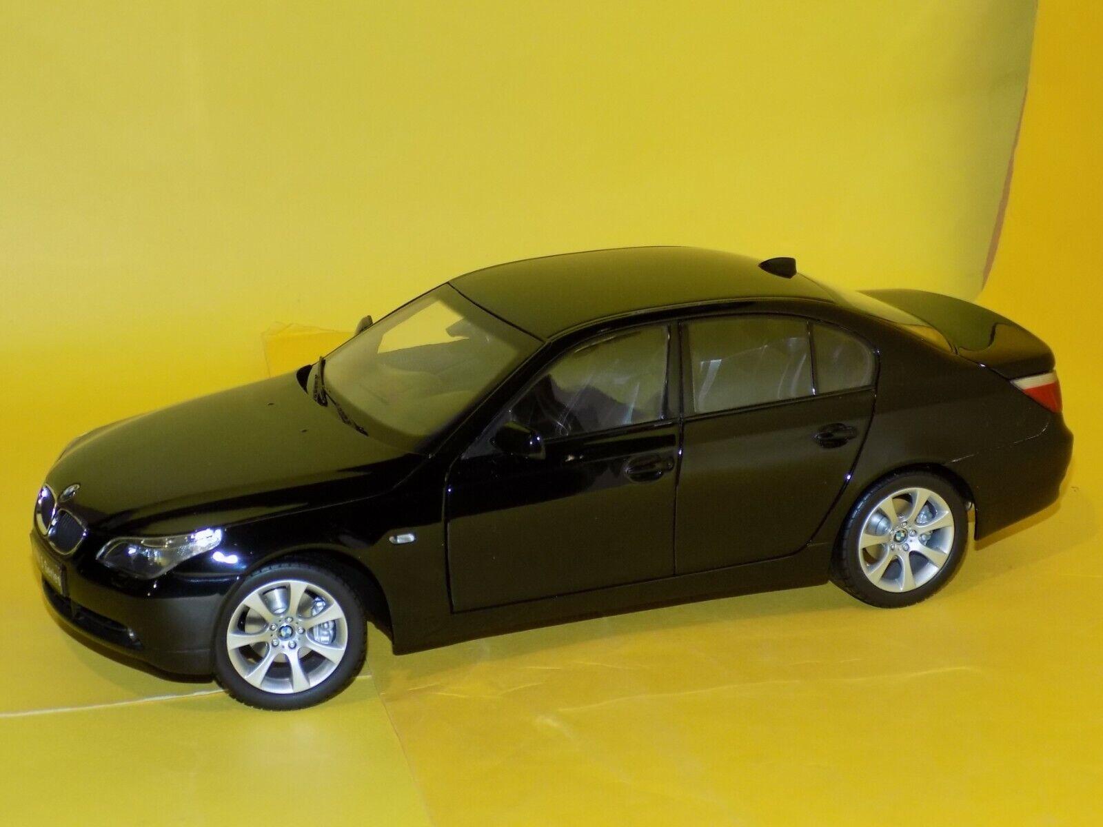 BMW Série 5 Noir 545I BERLINE 2003 08591BK KYOSHO 1 18