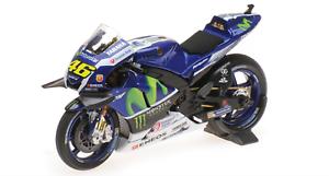1 18 Yamaha YZR-M1 Rossi MotoGP 2016 1 18 • Minichamps 182163046