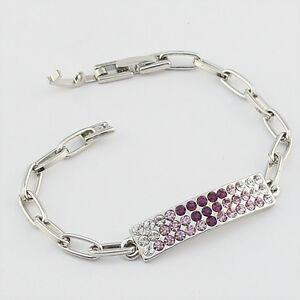 14k-white-Gold-plated-purple-crystals-bangle-bracelet-with-Swarovski-elements