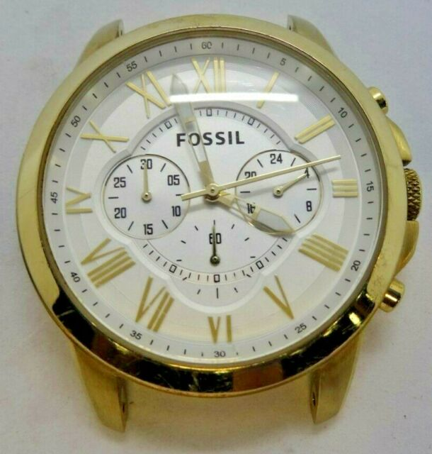 e0d523bbd738 Fossil FS4767 Women s Gold Tone Analog Watch Case Used