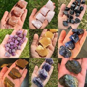 Cristal Natural Rough Piedra Mineral Specimen 100Ct Recoger N Mix Coleccionista