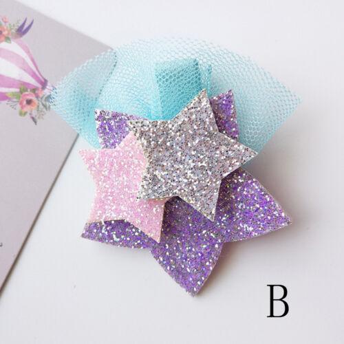 Unicorn Star Girls Hair Clips Hairpins Hair Accessories For Kids Baby Girls