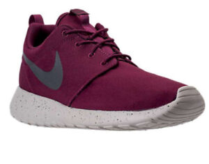 énorme réduction 2371f 08f1a Details about Men's Nike Roshe One SE Running Shoes in Bordeaux 844687 604  -Various sizing