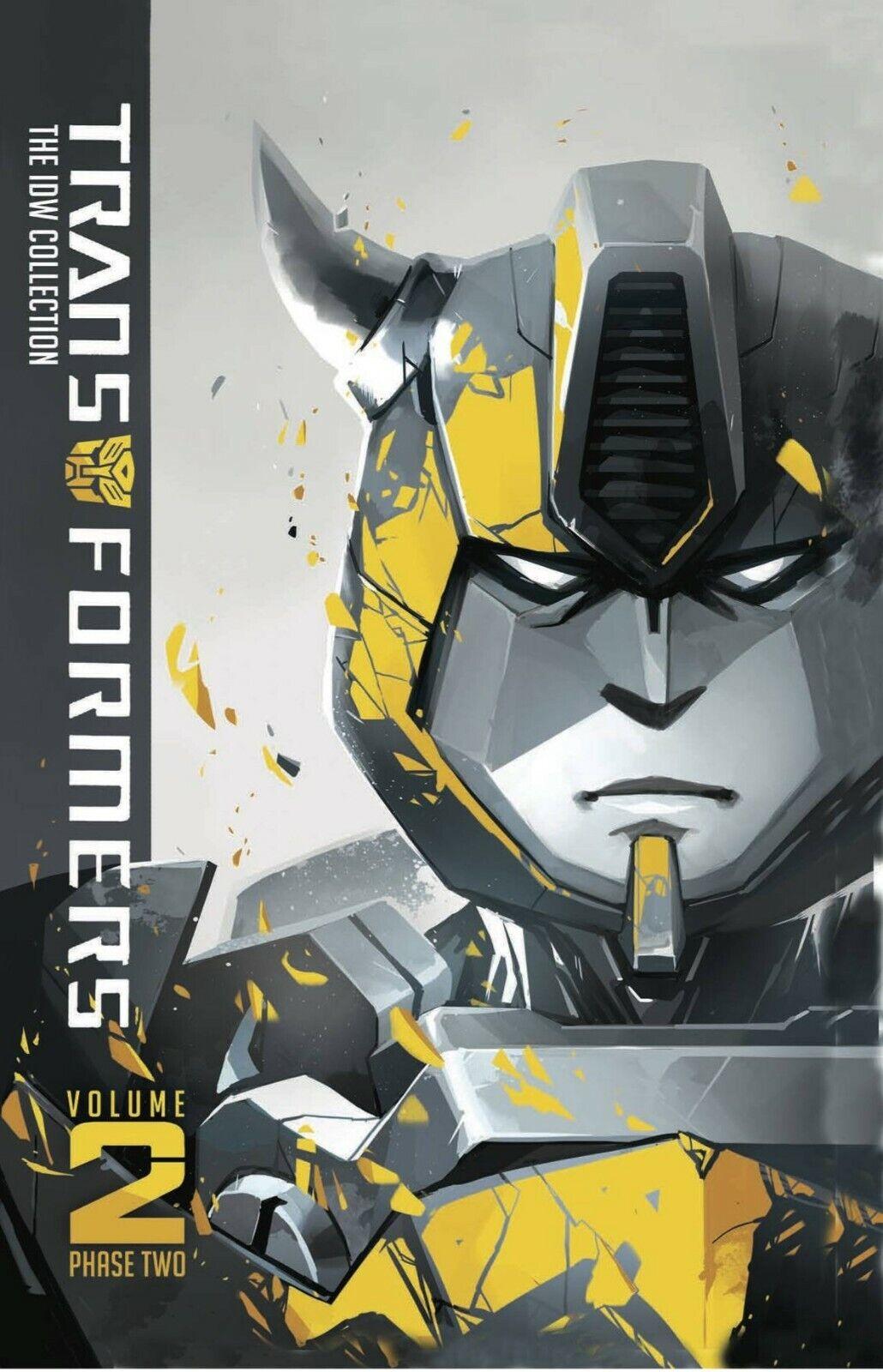 Colección De Transformers De Idw fase dos volumen 2 Tapa Dura -- Bumblebee