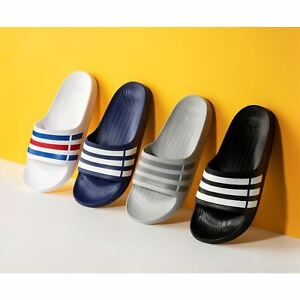 best authentic 35c89 584c4 ... Adidas-Duramo-Slide-Homme-Tongs-Sandales-Offre-Limitee-
