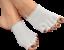 Gel-Abierto-5-Toe-Socks-Cojin-Pies-Piel-Seca-Pie-De-Atleta-Hidratante-Separador miniatura 4