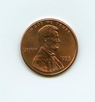 1993 United States Penny cud by R error coin MK   eBay