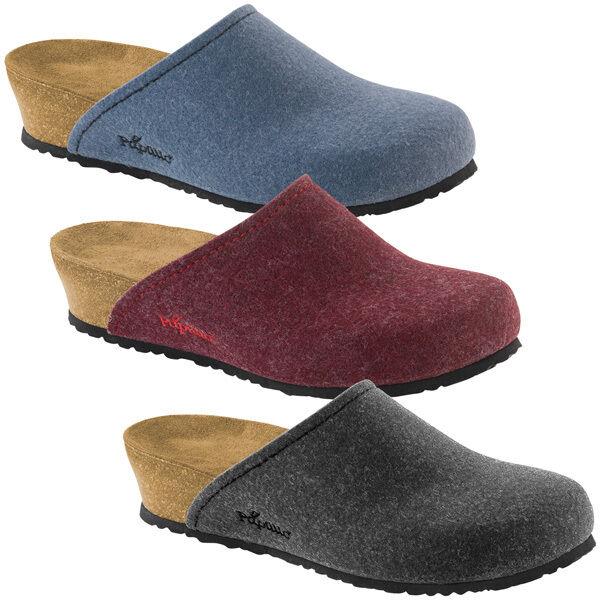 Birkenstock Schuhe Papillio Audrey Filz Clog Schuhe Birkenstock Sandale Keil Pantolette Pantoffeln 98b3a5