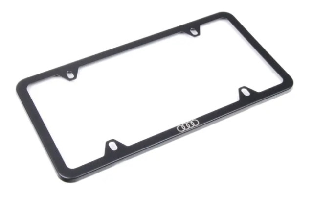 Black License Plate Frame #1 Everything Auto Accessory 758