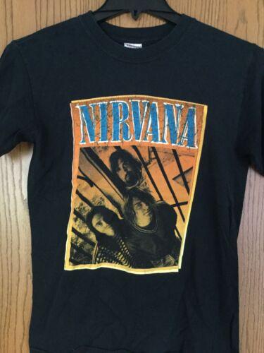 Nirvana.  Shirt.   Black.   S