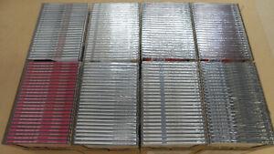 200-Maxi-CD-Custodie-vuote-NUOVO-con-CD-incluso