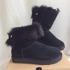 UGG Womens Size 11 Black Toscana Swarovski® crystal rivet Valentina  Boots $ 210