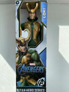 "New Marvel Avengers Titan Hero Series Blast Gear Loki Action Figure, 12"" - Rare"
