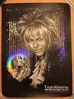 1986 Labyrinth Jim Henson David Bowie Art Print Poster Movie Mondo Tracie Ching