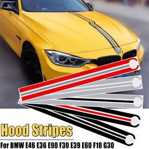 Cappuccio-Cofano-Strisce-Decalcomanie-Adesivi-Orlo-per-BMW-E46-E36-E90-F30-E39